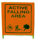 Active Falling Area